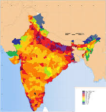 Population Map District Level Population Density Map Of India 1090 1150