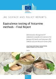 equivalence cuisine equivalence testing of histamine methods report european
