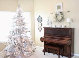 love of homes christmas decor a silver u0026 white tree