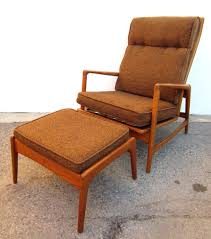 modern chair with ottoman 1950 danish mid century modern lounge chair and ottoman ib kofod