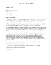 business plan cover letter example proposal cover letters sample
