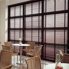 Wooden Blinds With Curtains Premium 2
