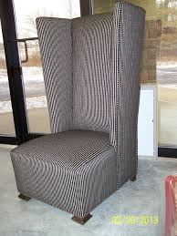 Modern High Back Wing Chair High Wingback Chair Ultimate Venue