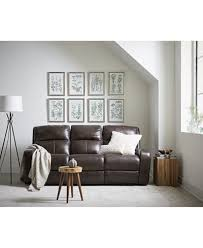 hannon leather power reclining sofa collection created for macy u0027s
