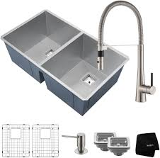 kitchen sink and faucet combinations bowl sink faucet combinations