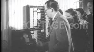 stock footage 1940 u0027s us workers punch time clock youtube