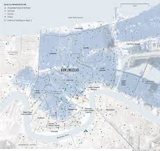 Tourist Map Of New Orleans by From The Graphics Archive Mapping Katrina And Its Aftermath The