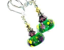 mardi gras earrings mardi gras earrings etsy
