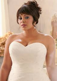 lace plus size wedding dress with crystal beads style 3156 morilee