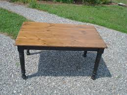 farmhouse table bench kitchen dining room table farm style with