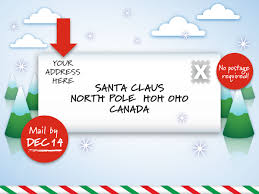 santa claus letters canada post gearing up for letters to santa canada post