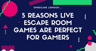 5 reasons live escape room games are perfect for gamers omescape