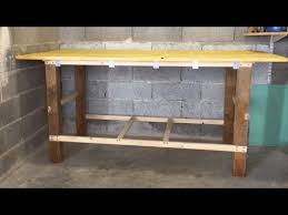 Simple Work Bench Diy How To Make A Cheap Quick And Simple Workbench Youtube