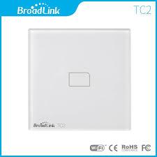 wireless wall light switch broadlink eu standard tc2 1 gang wireless control light switch