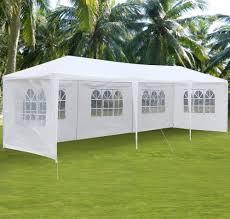 Canopy Tent Wedding by Zimtown 10 U0027 X30 U0027 Party Tent Wedding Canopy Heavy Duty Gazebo