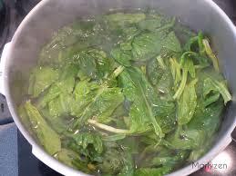 blanchir en cuisine timbales d épinards marlyzen cuisine revisitée
