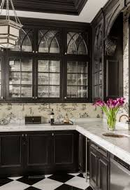Traditional White Kitchens - 34 timelessly elegant black and white kitchens digsdigs