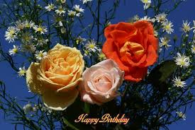 free birthday ecards with beautiful philippine roses and happy