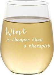 novelty wine glasses gifts s day engraved stemless wine glass 17 oz white wine