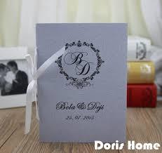 cheap printed wedding programs aliexpress buy customized wedding program of events wedding