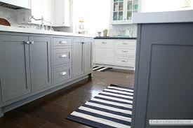 Black And White Striped Kitchen Rug Black Striped Rug Charming Black And White Stripe Rug Cowhide