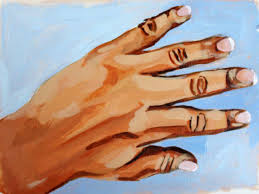 painting hands learn how to paint hands in acrylic
