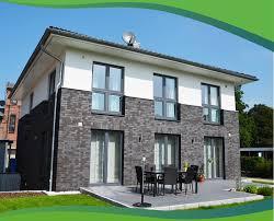 Haustypen Stadtvilla Fassadenmix U2013 Graef Massivhaus