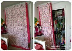 Replace Sliding Closet Doors With Curtains Tiny Oranges Fresh For Oc Decorating Ideas For