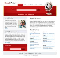 web templates website templates directory listing website theme search portal templates free search templates