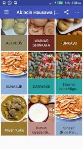 recipe apk abincin hausawa hausa recipe 1 0 apk android 4 0 x