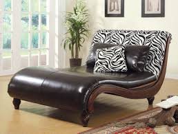 Animal Print Furniture by Contemporary Chaise Lounge Large Zebra Print Contemporary Chaise