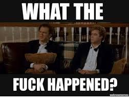 What The Fuck Meme - what the fuck happened fuck meme on me me