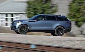 range rover dark blue 2018 range rover velar p380 test review car and driver