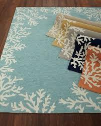 coral reef indoor outdoor rug 7 u00276