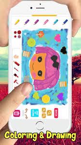 kid drawing coloring book lalaloopsy girls