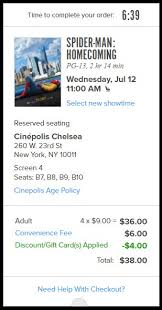 buy 4 tickets with fandango and save 4 movie deal expired