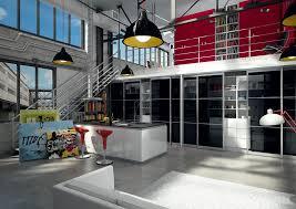 cuisine dans loft cuisine dans un loft portes de placard coulissant sogal modèle