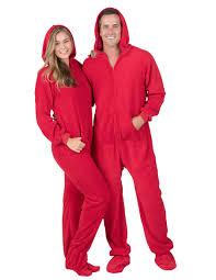 heatwave hoodie one hooded footed pajamas hooded one