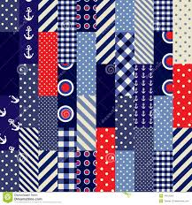 quilting design in nautical style stock photos image 34013393