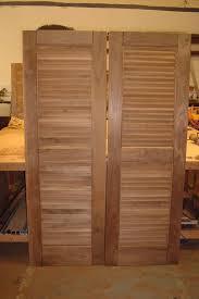 louvered interior doors metal bifold louvered closet doors