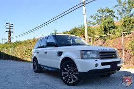 matte blue range rover range rover sport gwg wheels