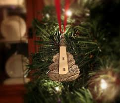 bodie island lighthouse christmas ornament virginia ornament