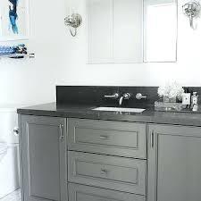 bathrooms with black vanities granite countertops for bathroom vanities dark gray washstand with