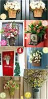 spring wreaths for front door front door summer wreath ideas diy decor spring print wreaths for