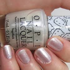 swatch saturday opi hello kitty collection adventures in acetone