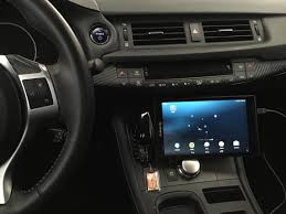 aftermarket head unit and remote control system