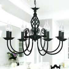 Black Iron Chandeliers Large Iron Chandeliers Stephenphilms Co