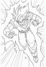 drawing goku super saiyan dragonball tutorial step 11