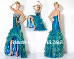peacock blue wedding dress vosoi com