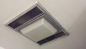 bathroom lighting change light bulb in nutone bathroom fan